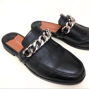 "Tony Bianco ""Dion"" Jetta chain loafers"